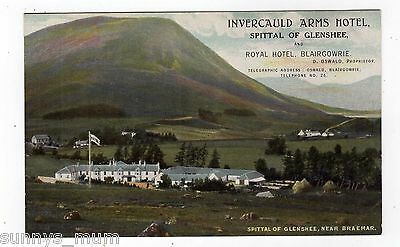 Scotland, Spittal Of Glenshee, Invercauld Arms Hotel & Royal Hotel, Blairgowrie