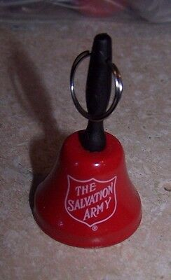 "NEW Salvation Army - TINY 2"" Red BELL RINGER KETTLE BELL"