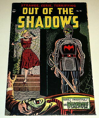 Out of the Shadows 14 Standard 1953 Pre Code Horror VG-F Toth art