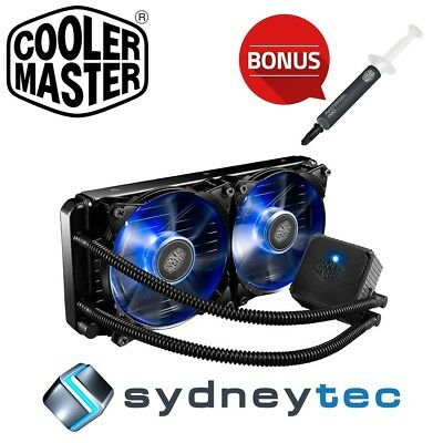 New Cooler Master Seidon 240P Liquid CPU Cooler RL-S24V-20PB-R2