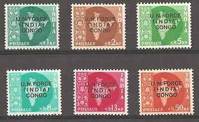 Congo belge - 1/6 - India - UN Force - 1962 - MNH