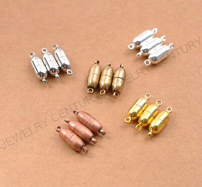 Silver/Gold Oval Strong Magnetic Connector Clasp For Bracelets Necklace