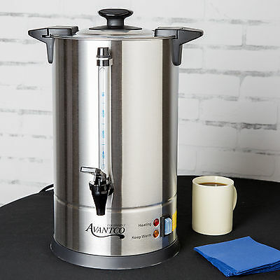Avantco CU55 55 Cup (1.9 Gallon) Stainless Steel Commercial Coffee Urn