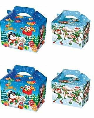 10 Christmas Party / Gift / Food / Sweet Boxes Elf or Santa