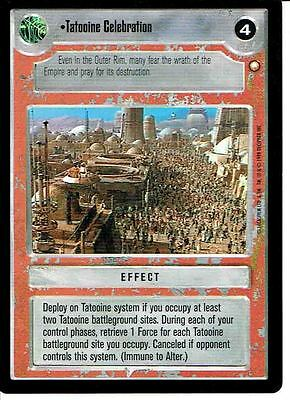 Star Wars Ccg Special Edition Light Side Rare Tatooine Celebration