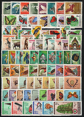 Hungary 1959-1991. COMPLETE ANIMALS / FAUNA COLLECTION WITH BETTERS, MNH (**)