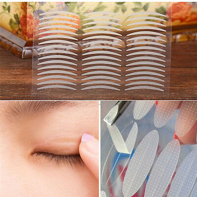 240 Pairs White Thin Invisible Double Eyelid Adhesive Eyes Tape Sticker