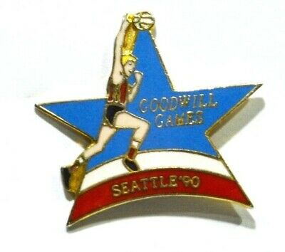 Pins Basket-Ball Goodwill Games Seattle 1990