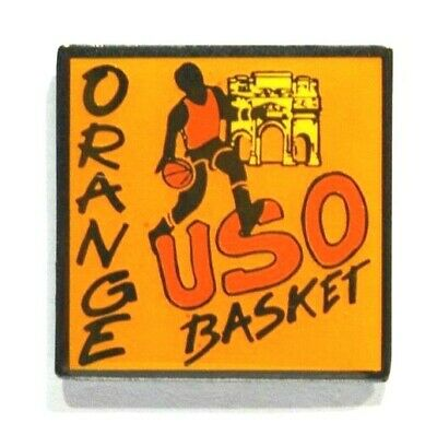 Pins Basket-Ball Uso Basket Orange 84 Vaucluse