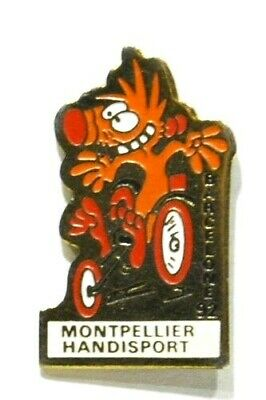 Pins Basket-Ball Handi-Sport Montpellier Jeux Olympiques Barcelone 92
