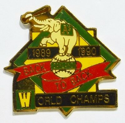 Pins Football Americain World Champs Oakland Elephant 89/90  Etats Unis