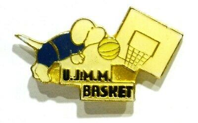 Pins Basket Ball Ujmm Monsteroux 38 Isere Chien Dog