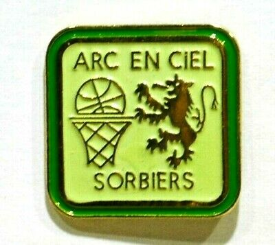 Pins Basket-Ball Arc En Ciel Sorbiers Loire 42