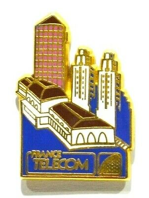 Pins La Poste Ptt France Telecom Telephone 69 Lyon Part Dieu Crayon