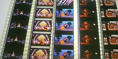 Disney's - Beauty and the Beast -  Rare Unmounted 35mm Film Cells - 5 Strips