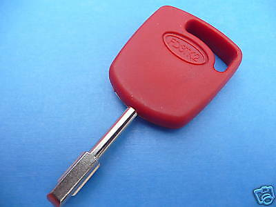 PACK OF 3 KEYS FORD COMPATIBLE RED TIBBIE KEYS with ID4C Glass Chip