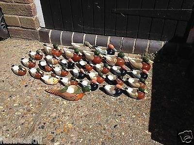 Bargain LOT Massive x 29 Goss Duck Posy Holder Collection Vauled c1989 @ £1770+
