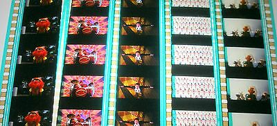 Disney's - The Muppets-  Rare Unmounted 35mm Film Cells - 5 Strips