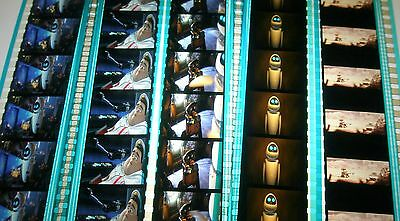 Disney's - Wall-E-  Rare Unmounted 35mm Film Cells - 5 Strips