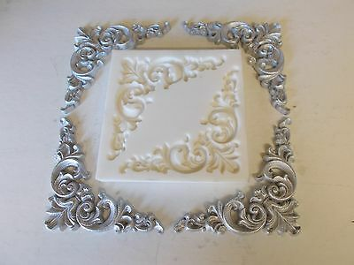 Ornate French Style Corners Silicone Rubber Mould