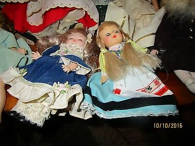 Vintage Madame Alexander dolls, Other Vintage dolls 7 Doll Lot Auction   As-Is