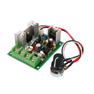 Universal 12V 24V 30V PWM DC Motor Speed Regulator Controller Switch 10A
