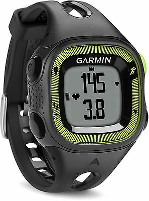Garmin Forerunner 15 GPS Fitness Watch with HRM -Black/Green -From Argos on ebay