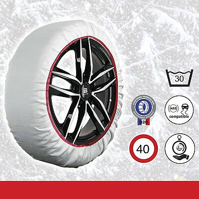 "Sumex Husky Textile Winter Car Wheel Ice, Frost & Snow Chain Socks for 14"" Tyres"