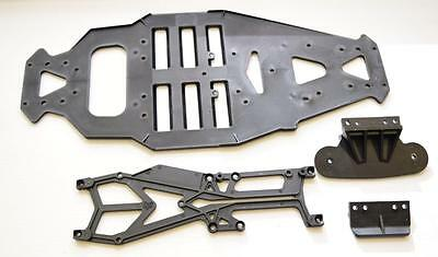 HPI  Sprint 2 Flux  85087 - MAIN CHASSIS Plus 85088 - UPPER DECK With Bumper
