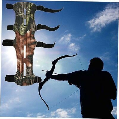 Camouflage Archer Armguard Arm Guard Protector Shooting Compound Bow BH