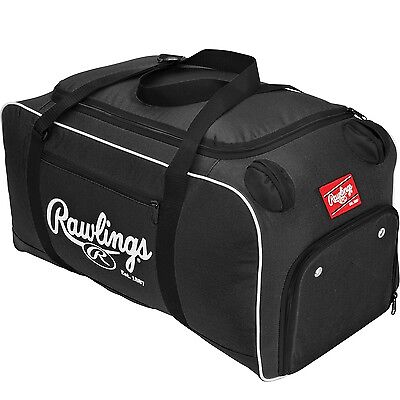 Rawlings Covert Baseball or Softball Bat Duffel Bag-Black COVERT-B
