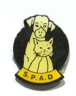 Pins Chien Chat Spad Ste Protectrice Animaux