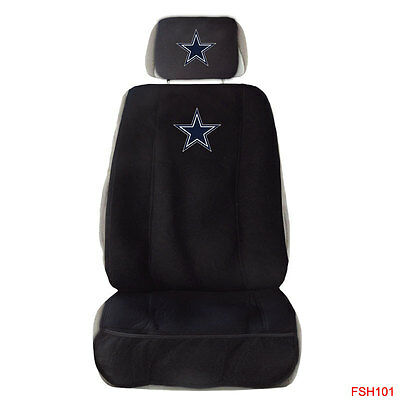 Surprising New Nfl Dallas Cowboys Car Truck Front Sideless Seat Cover Andrewgaddart Wooden Chair Designs For Living Room Andrewgaddartcom