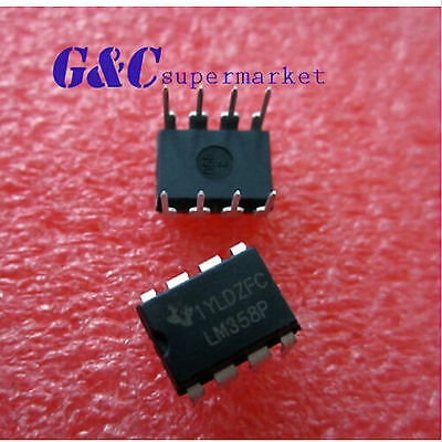 10/20/50/100Pcs Lm358 Lm358N Opamp Dual 0-70Deg C 8-Dip New Good Quality