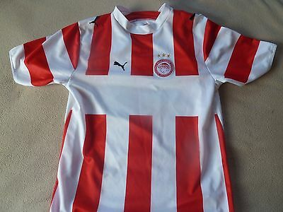 older boys OLYMPIACOS shirt - size 34/36 great condition