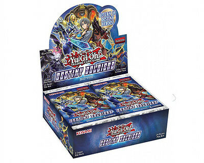 Yu-Gi-Oh Destiny Soldiers Trading Card Game Booster Box New/Sealed