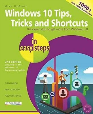 Windows 10 Tips Tricks Shortcuts In Easy, McGrath, Mike, 9781840787481