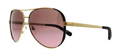 MICHAEL KORS Sunglasses MK5004 CHELSEA 101414 Gold Chocolate Brown 59MM