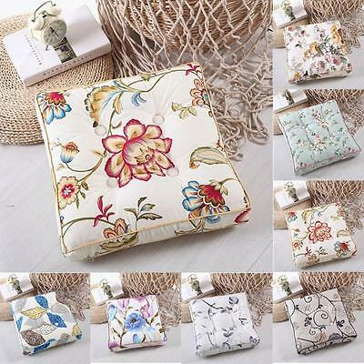Home Canvas Printing Seat Pads Removable Tatami Mat Office Chair Garden Cushion