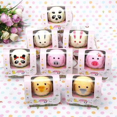 Animal Cute Fold Hand Towel Valentine Party Washcloth Cotton Cake Towel Gifts CB