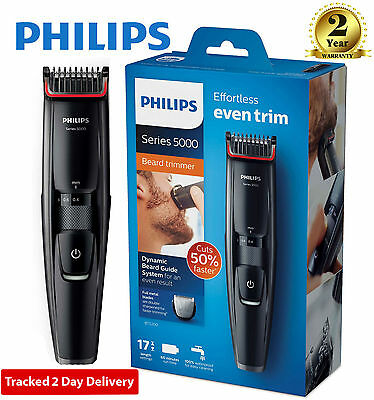 Philips BT5200/13 5000 Series Beard and Stubble Trimmer with 17 length Setting