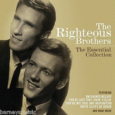The Righteous Brothers (New Cd) Essential Collection Greatest Hits Very Best Of