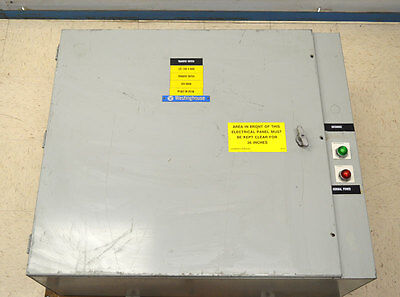 Westinghouse 5T0850 400-Amp 600V Manual Transfer Switch 3-Ph Normal/Emergency 4W