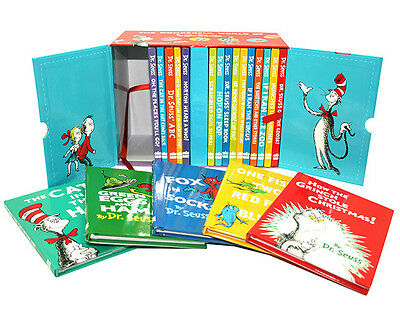 The Wonderful World of Dr.Seuss 20 Books Gift Box Set Collection Hardback