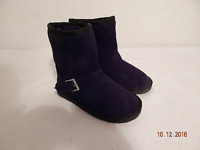 Girl's Youth Fall Winter Fashion Boots Size 12 The Children's Place Black