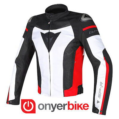 Dainese Super Speed Textile Vented Armoured Motorcycle Motorbike Jacket SALE