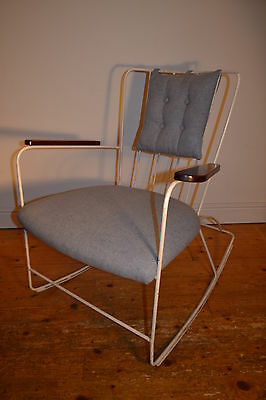 Stunning Vintage Ernest Race Rocking Chair