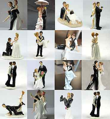Wedding Cake Topper Figurines - All Hand Painted ~15 Styles ~  CLEARANCE SALE