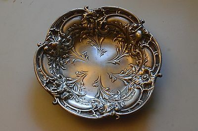 Vintage Reed and Barton STERLING SILVER HAND-WROUGHT CANDY DISH  4.1oz