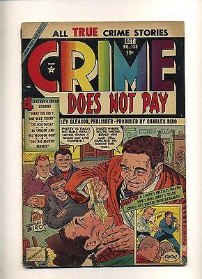 Crime Does Not Pay 138 (FR) 1954 Lev Gleason gangsters Tuska-a Biro-c (c#09963)